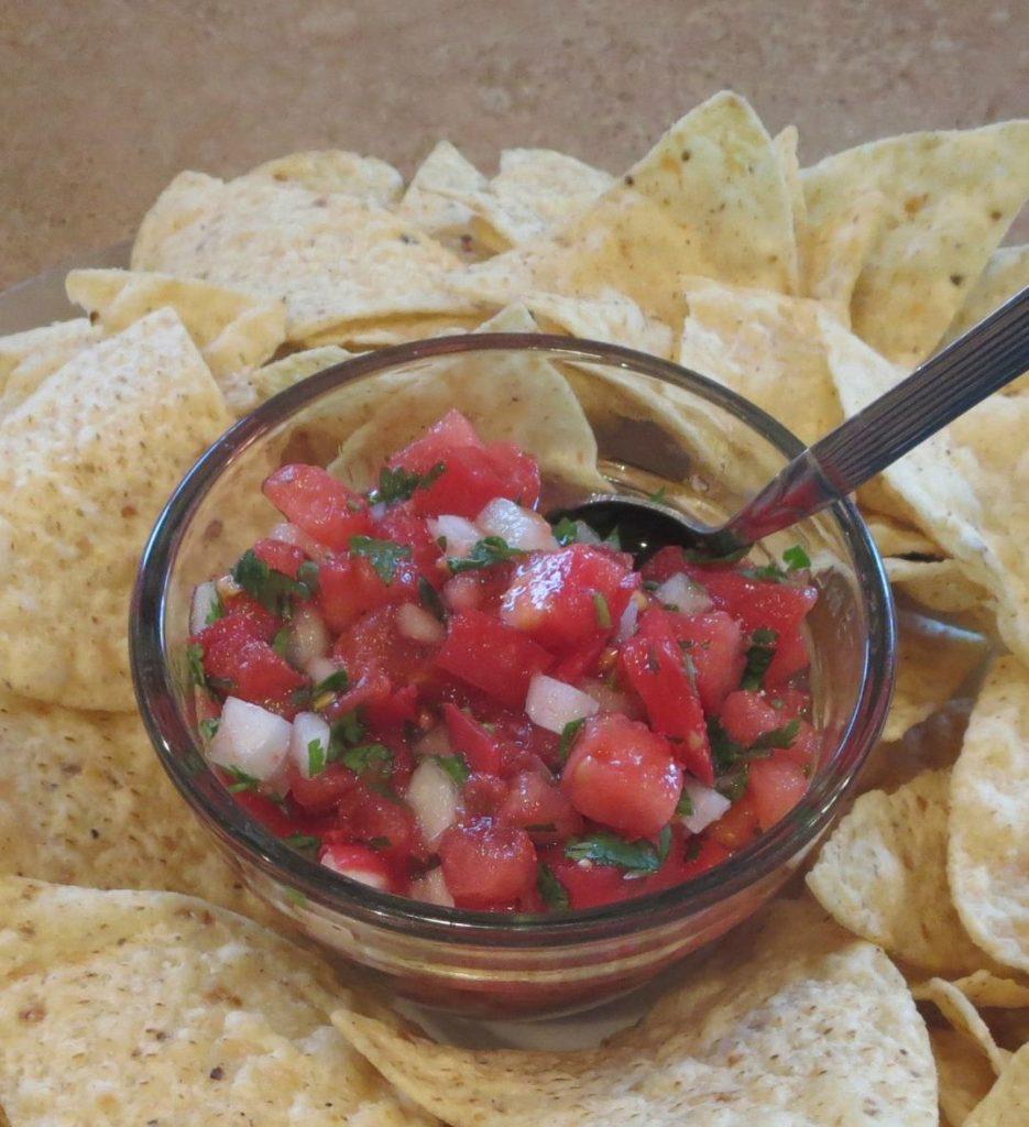 Pico de gallo recipe from carrotgal.com
