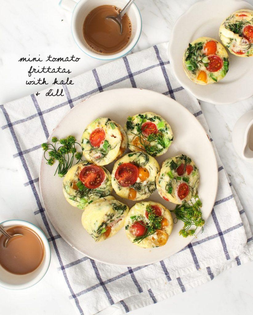 Veggie Fritatta Muffins from loveandlemons.com