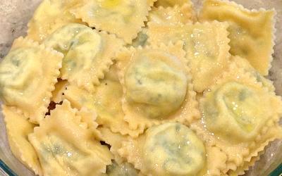 Dandelion Greens Ravioli Recipe